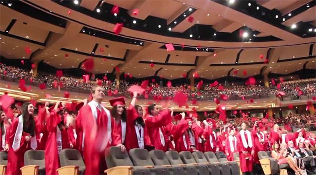 Post - Barrington High School 2015 Graduation - 6