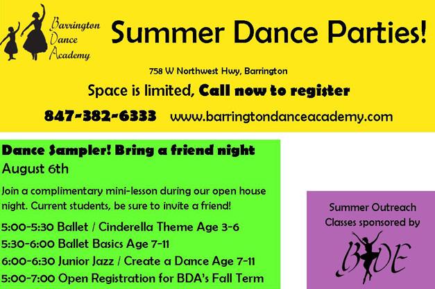 Post - BYDE - Summer Dance Parties