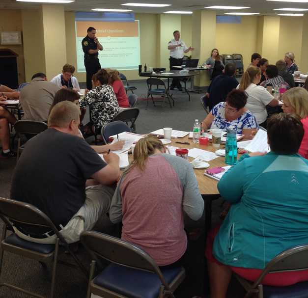 Post - Saint Anne Parish School Tabletop Safety Exercise - 5 - Facebook