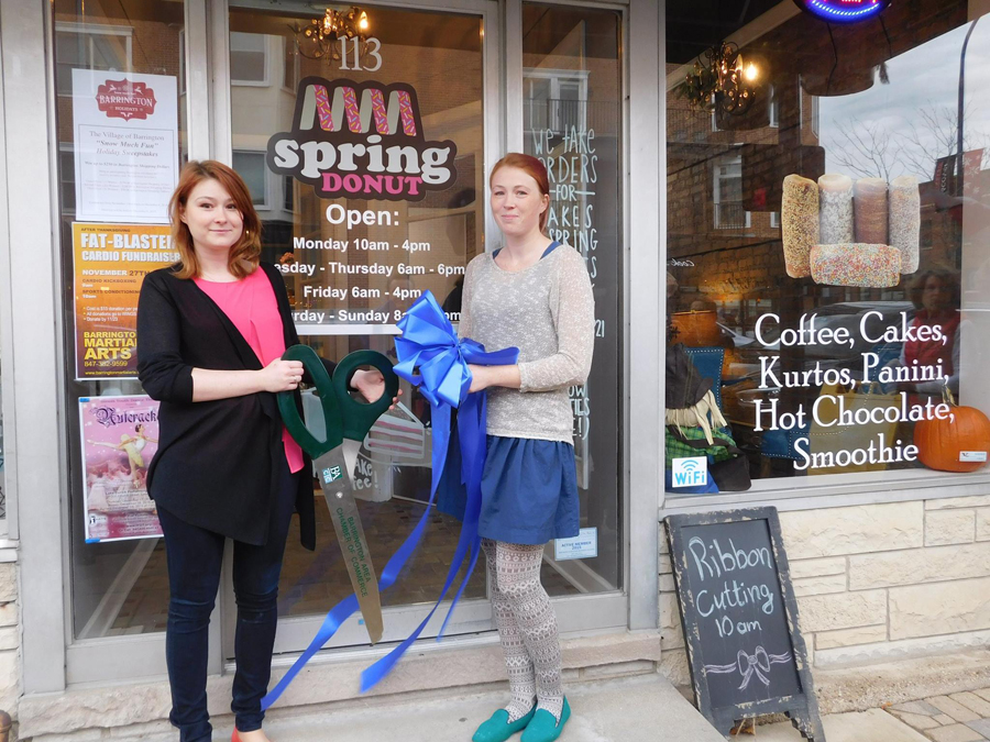Post 900 - Spring Donut Ribbon Cutting - 2