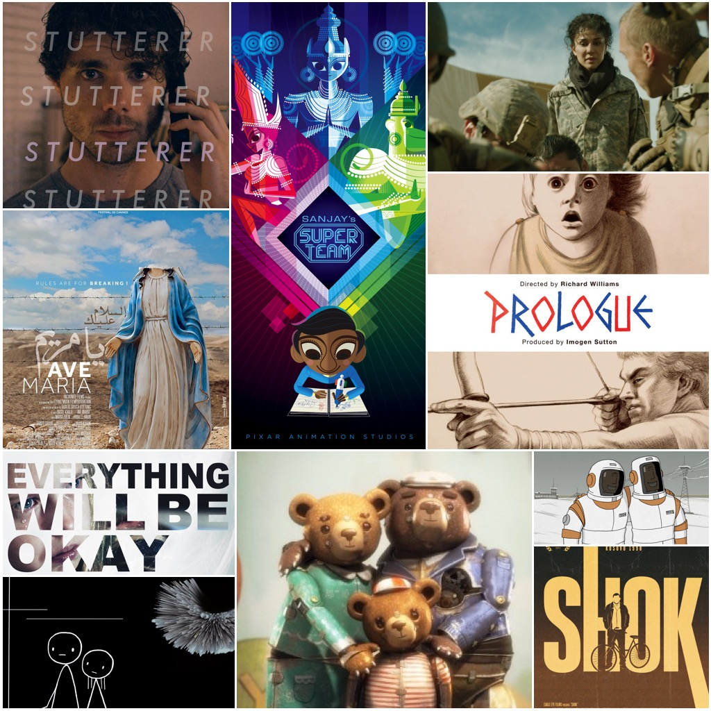 Collage - Oscar Shorts 2016 - Films