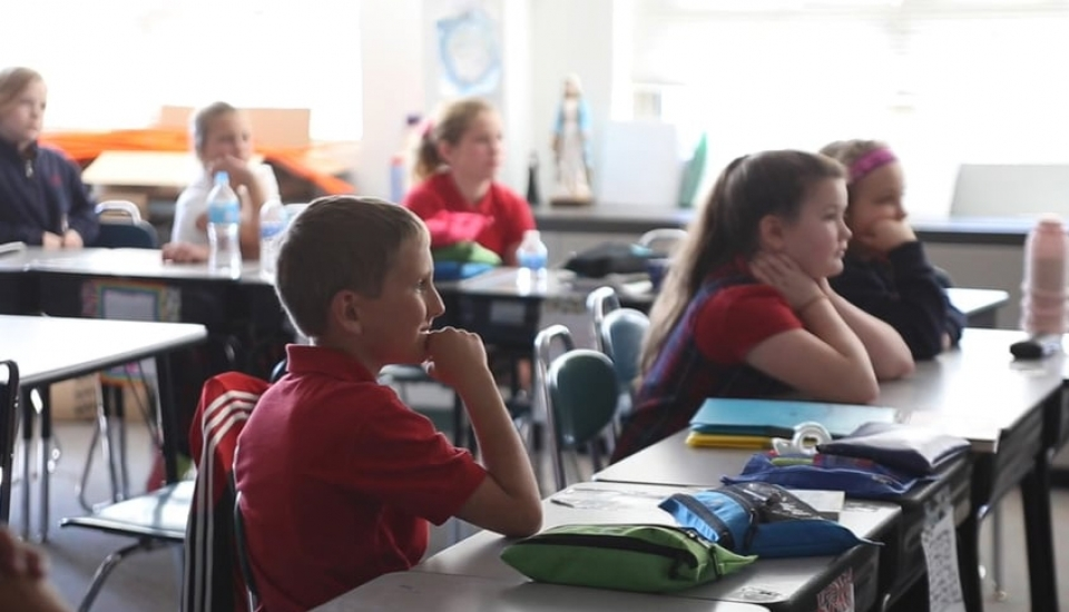 Saint Anne Parish School in Barrington, Illinois
