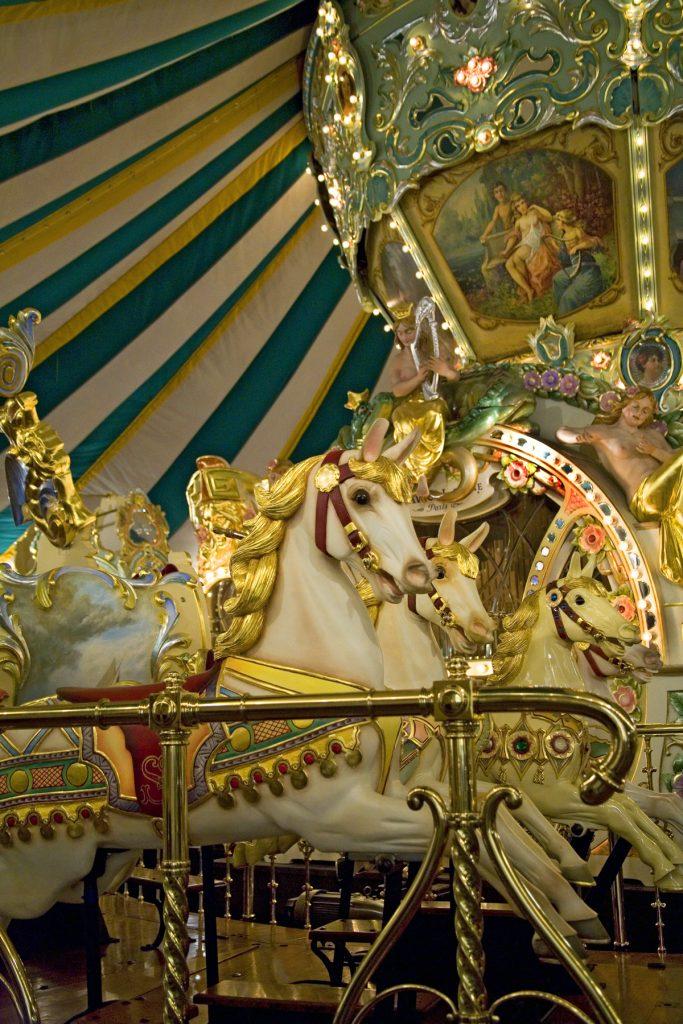Barrington Country Garden & Antique Faire - Sanfilippo Carousel