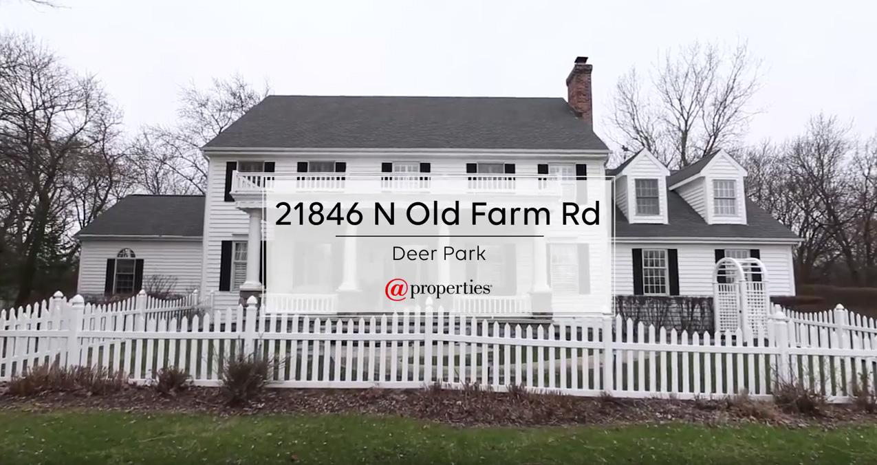 21846 N Old Farm Road - Deer Park, Illinois